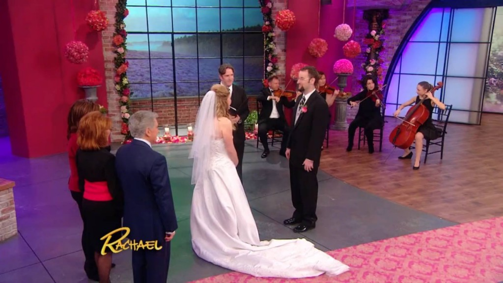 Recently Harmonia Strings appeared at Rachael Ray show on Valenitine's day!      Click On Image
